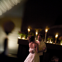 Beauty, Reception, Flowers & Decor, Wedding Dresses, Fashion, white, black, dress, Bride, Groom, Dance, Wedding, Dancing, Hair, First, And, Banquet, Floor, Photolabel, Floor Wedding Dresses