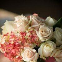 Reception, Flowers & Decor, white, pink, silver, Centerpieces, Vintage, Roses, Centerpiece, Contemporary, Pave, Paisley events