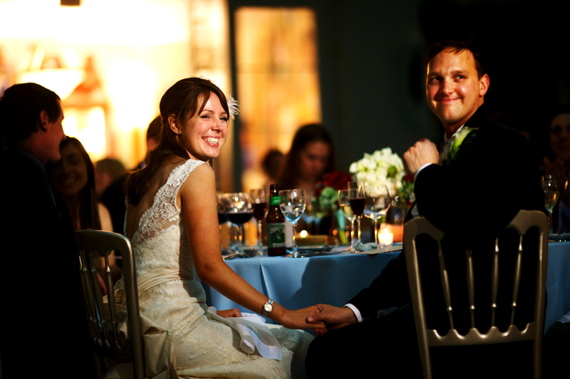 Reception, Flowers & Decor, Bride, Groom, Dancing, Toasts, Laughing, Washington, Chicago, Library, Harold