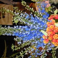 Ceremony, Reception, Flowers & Decor, yellow, orange, pink, red, purple, blue, green, brown, black, silver, gold, Ceremony Flowers, Flowers, Jonathan gray florist