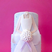 Cakes, white, purple, cake, Eatcakebemerry