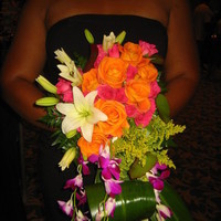 Ceremony, Reception, Flowers & Decor, white, yellow, orange, pink, red, purple, blue, green, brown, black, silver, gold, Ceremony Flowers, Flowers, Jonathan gray florist