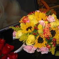Ceremony, Reception, Flowers & Decor, Bridesmaids, Bridesmaids Dresses, Fashion, white, yellow, orange, pink, red, purple, blue, green, brown, black, silver, gold, Jonathan gray florist