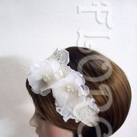 Beauty, Ceremony, Flowers & Decor, Jewelry, Bridesmaids, Bridesmaids Dresses, Wedding Dresses, Fashion, white, ivory, yellow, dress, Headbands, Ceremony Flowers, Bridesmaid Bouquets, Flowers, Roses, Hair, Bridal, Pearls, Headband, Sheer, Floreti, Headwear, Flower Wedding Dresses