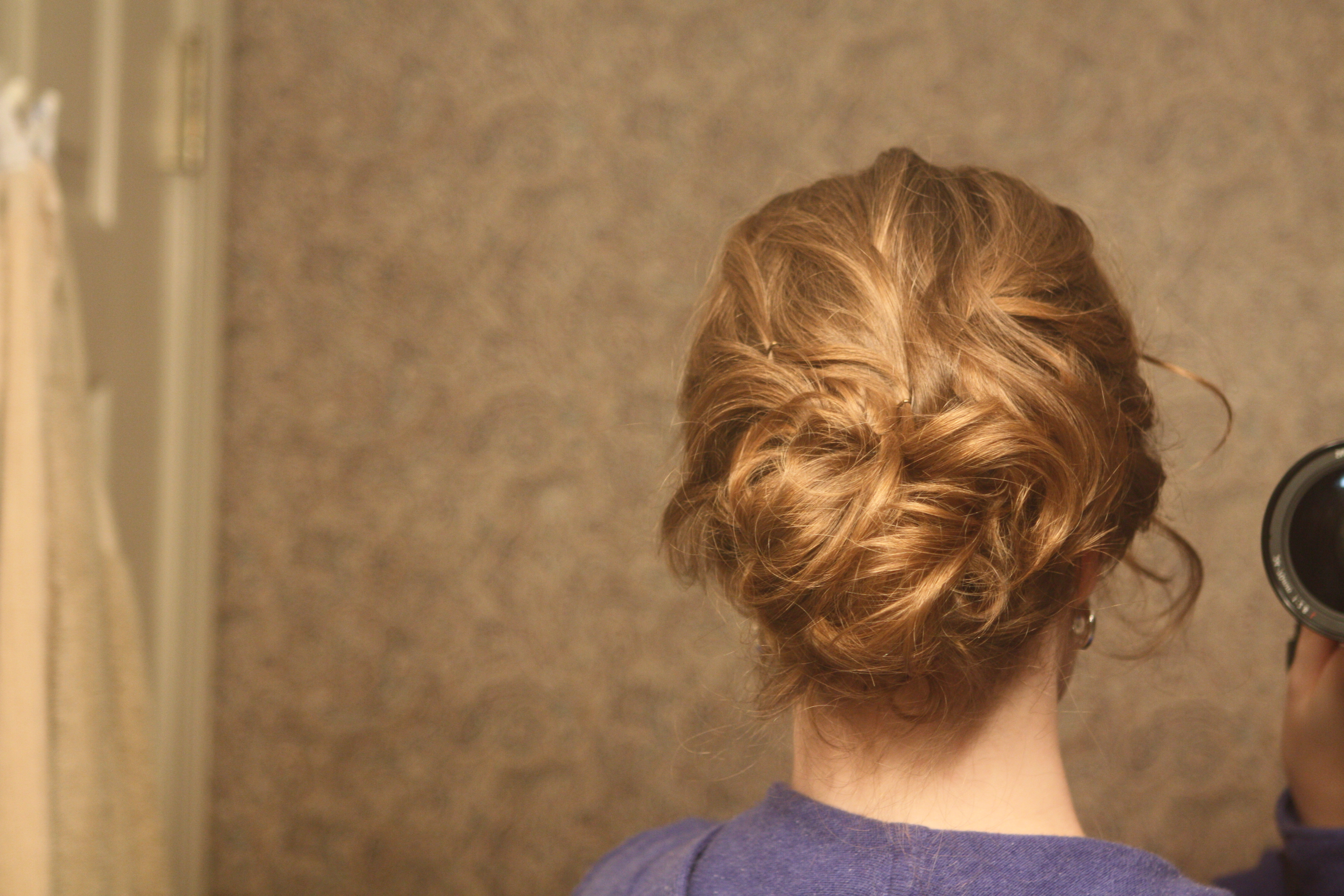 Beauty, Chignon, Wavy Hair