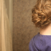 Beauty, DIY, Chignon, Updo, Curly Hair, Wavy Hair, Romantic, Hair, Wavy, Curly, Messy