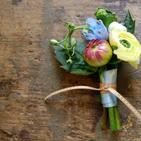 Flowers & Decor, pink, blue, Boutonnieres, Flowers, Boutonniere, Studio choo