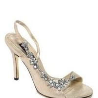 Shoes, Fashion, gold, Sparkle, Sandals, Crystals, Rhinestones