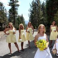 Beauty, Inspiration, Flowers & Decor, Bridesmaids, Bridesmaids Dresses, Wedding Dresses, Rustic Vineyard Wedding Dresses, Vintage Wedding Dresses, Fashion, white, yellow, brown, dress, Bridesmaid Bouquets, Vintage, Rustic, Groomsmen, Flowers, Vintage Wedding Flowers & Decor, Hair, Board, Lake, Big, Mountain, Bear, Julie wilson, rustic wedding dresses, Flower Wedding Dresses