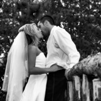 Beauty, Inspiration, Wedding Dresses, Romantic Wedding Dresses, Rustic Vineyard Wedding Dresses, Fashion, white, black, dress, Rustic, Bride, Groom, Romantic, Kiss, Hair, And, Board, Mountain, Julie wilson, rustic wedding dresses