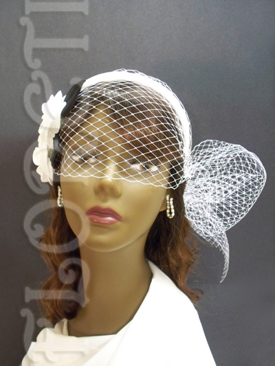 Beauty, Ceremony, Flowers & Decor, Jewelry, Bridesmaids, Bridesmaids Dresses, Wedding Dresses, Veils, Fashion, white, black, dress, Ceremony Flowers, Bridesmaid Bouquets, Flowers, Veil, Hair, Satin, Birdcage veil, Floreti, Camellia, Bridal headwear, Bridal headband, satin wedding dresses, Flower Wedding Dresses