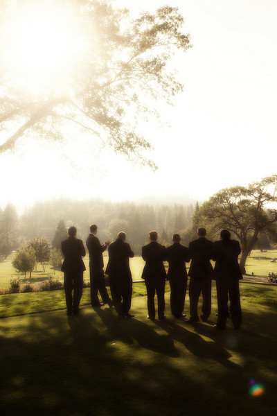 Groomsmen, Golf, Mountains, Flare, Course, Julie wilson