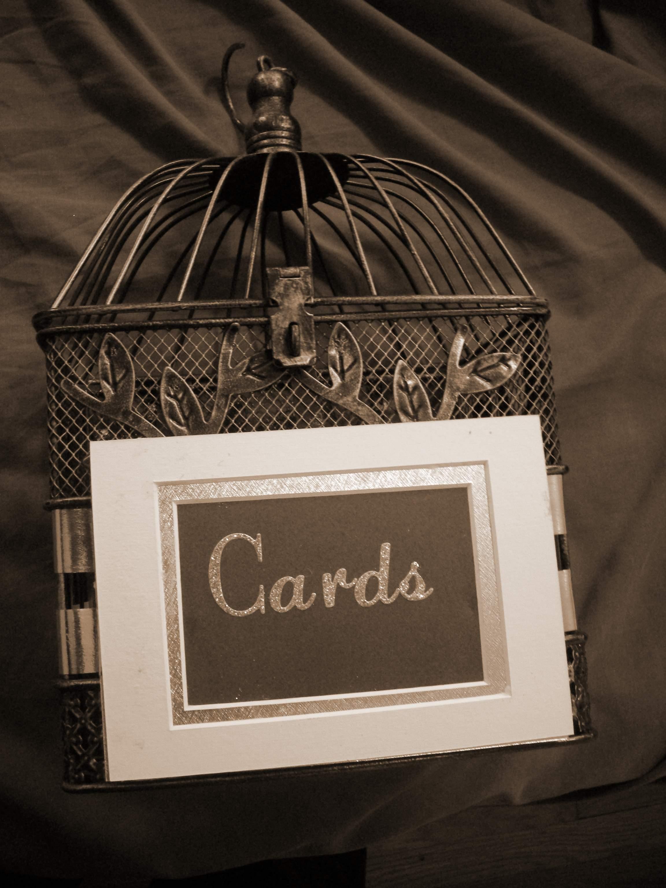 DIY, Reception, Flowers & Decor, Card box