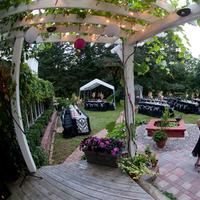 Reception, Flowers & Decor, pink, green, black