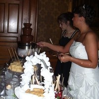 Reception, Flowers & Decor, white, Chocolate fountain, Beclyns chocolate fountains