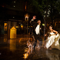 Beauty, Inspiration, Wedding Dresses, Fashion, white, black, dress, Makeup, Hair, Board, The, Trash, Denver, Rain, Peter holcombe photography
