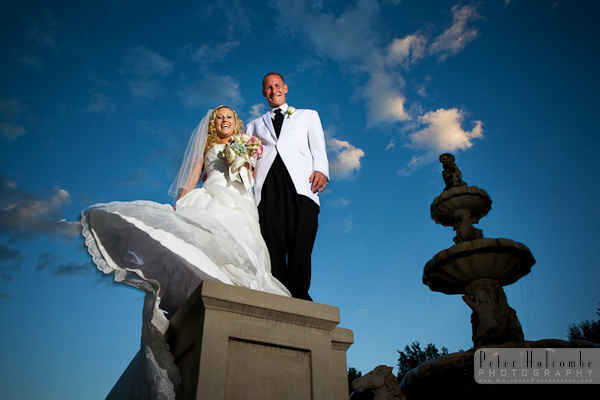 Bride, Groom, And, Water, The, Springs, Colorado, Broadmoor, Peter holcombe photography