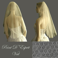 Beauty, Wedding Dresses, Fashion, white, dress, Hair, Wedding veil, Distinctive veils accessories, Lace veil, Point desprit veil