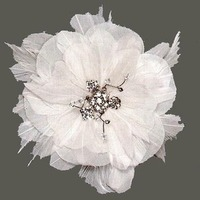 Beauty, Flowers & Decor, Bridesmaids, Bridesmaids Dresses, Wedding Dresses, Fashion, white, dress, Bridesmaid Bouquets, Flowers, Hair, Fascinator, Hair flower, Distinctive veils accessories, Feather hair flower, Bridal hair flower, Wedding hair flower, Flower Wedding Dresses