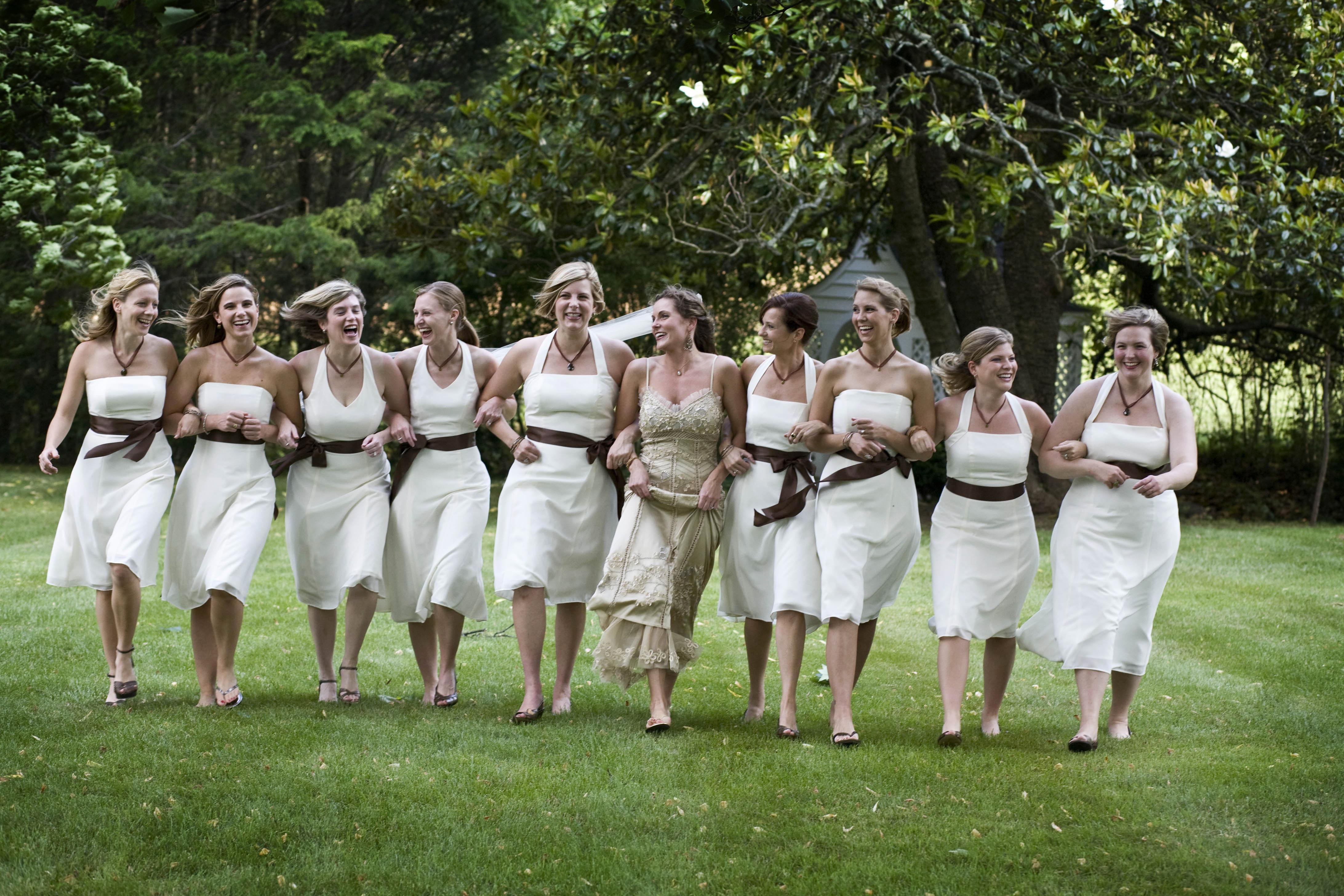 Bridesmaids, Bridesmaids Dresses, Bridesmaid Dresses, Fashion, ivory, Coco myles, Georgette