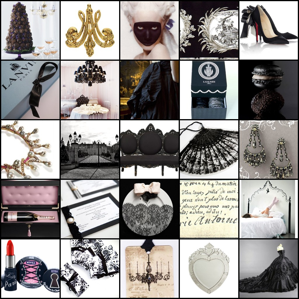 Beauty, Inspiration, Wedding Dresses, Cakes, Fashion, black, cake, dress, Makeup, Wedding, Hair, Board, Paris, French, Marie-antoinette