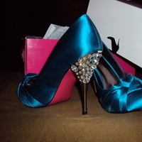 blue, Heels