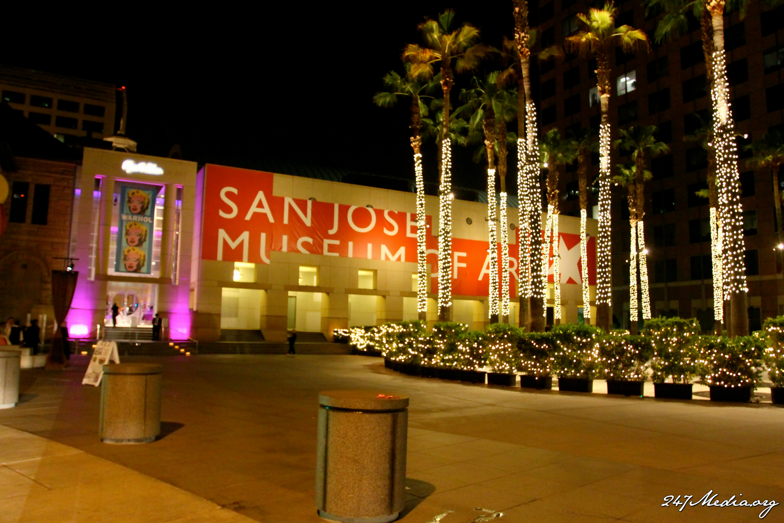 Reception, Flowers & Decor, Of, San, Art, Jose, Museum