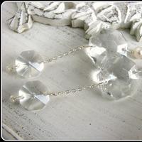 Jewelry, Earrings, Vintage, Bride, Groom, Wedding, Bridesmaid, Of, Mother, Pearls, Crystal, The, Chandelier, Stacys designs 88