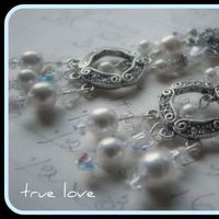 Jewelry, Earrings, Bride, Groom, Wedding, Bridesmaid, Of, Mother, Pearls, The, Swarovski, Crystals, Stacys designs 88