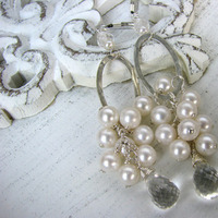 Jewelry, Earrings, Bride, Groom, Wedding, Bridesmaid, Of, Mother, Pearls, The, Stacys designs 88