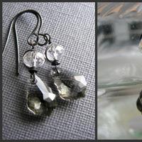 Flowers & Decor, Jewelry, Earrings, Bride, Flower, Girl, Groom, Wedding, Bridesmaid, Of, Mother, Crystal, The, Swarovski, Stacys designs 88