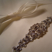 Beauty, Jewelry, Wedding Dresses, Fashion, white, silver, dress, Headbands, Bride, Hair, Bridal, Sash, Ribbon, Headband, Bridalbling
