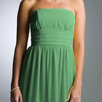 Bridesmaids, Bridesmaids Dresses, Wedding Dresses, Fashion, green, dress, Bridal, Davids, 83362