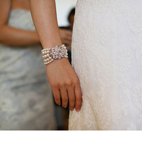 Jewelry, Wedding Dresses, Lace Wedding Dresses, Fashion, white, dress, Bracelets, Brooches, Lace, Bracelet, Brooch, Pearl, Jamie greg