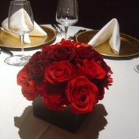 Ceremony, Reception, Flowers & Decor, Bridesmaids, Bridesmaids Dresses, Fashion, red, brown, gold, Ceremony Flowers, Bridesmaid Bouquets, Centerpieces, Flowers, Centerpiece, Chocolate brown, Red roses, Empora floral artistry, red ranunculus, Flower Wedding Dresses