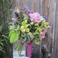 Flowers & Decor, purple, blue, Bride Bouquets, Flowers, Bouquet, Orchid, Bridal, Cymbidium