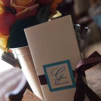 Ceremony, Flowers & Decor, Favors & Gifts, blue, brown, Favors, Outdoor, Wedding, Fan, llc, For, Enchanted dream weddings affairs