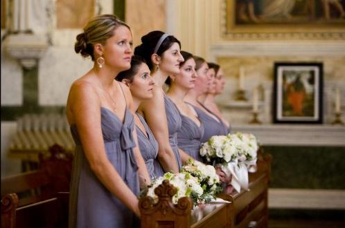 Ceremony, Flowers & Decor, Bridesmaids, Bridesmaids Dresses, Fashion, gray