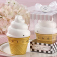 Favors & Gifts, white, yellow, favor, Bridal Shower, Party, Amandas wedding and baby gifts favors, Ice cream cone, Kitchen timer