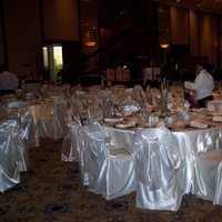 Ceremony, Reception, Flowers & Decor, white, ivory, Table, Chair, Cover, Satin, Cloth, Organza, Pure elegance