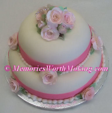 Inspiration, Flowers & Decor, Jewelry, Stationery, Cakes, white, pink, cake, Invitations, Flowers, Wedding, Fondant, Buttercream, Board, North, Carolina, Mount, Gumpaste, Nc, Rocky, Paste, Gum, A memory worth making - cakes