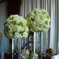 Ceremony, Reception, Flowers & Decor, Bridesmaids, Bridesmaids Dresses, Cakes, Fashion, gold, cake, Ceremony Flowers, Bridesmaid Bouquets, Centerpieces, Flowers, Centerpiece, Arrangement, Terra flowers miami, Flower Wedding Dresses