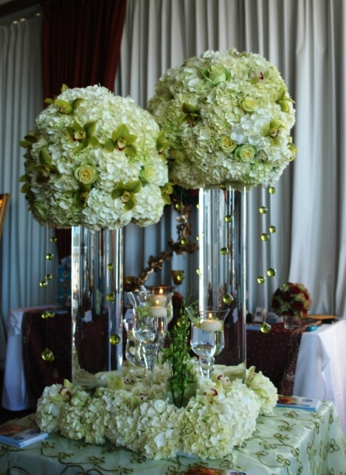 Ceremony, Reception, Flowers & Decor, Bridesmaids, Bridesmaids Dresses, Cakes, Fashion, gold, cake, Ceremony Flowers, Bridesmaid Bouquets, Centerpieces, Flowers, Centerpiece, Arrangement, Terra flowers miami, Flower Wedding Dresses