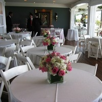 Reception, Flowers & Decor, white, pink, Centerpieces, Tables & Seating, Chairs, Linens, Tables, Seating, Gourmet caterers