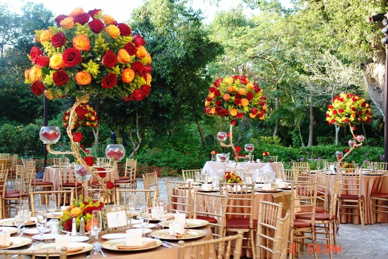 Terra flowers miami weddings has a large selection of Places to have a fall wedding