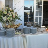 Reception, Flowers & Decor, white, pink, Buffet, Meat, Gourmet caterers