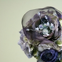 Ceremony, Flowers & Decor, purple, Ceremony Flowers, Bride Bouquets, Flowers, Bouquet, Hydrangea, Uniquely arranged decor