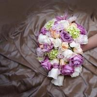 Ceremony, Flowers & Decor, white, ivory, purple, green, Ceremony Flowers, Bride Bouquets, Bride, Flowers, Roses, Bouquet, Bridal, Peach, Orchids, Lavendar, Lavishly luxe floral and event design