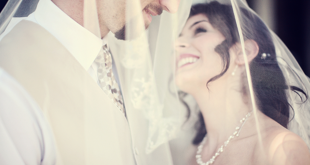 Veils, Fashion, Bride, Groom, Veil, Under, And, Rebecca photographer