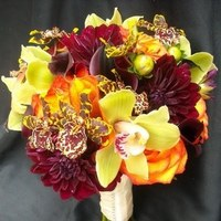 Flowers & Decor, black, Bride Bouquets, Flowers, Bouquet, Bridal, Michael pena events